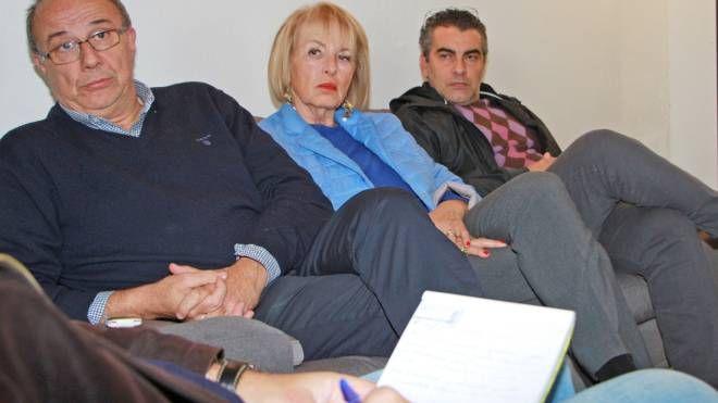 Da sinistra Giacomo Brega  Cristina Rasparini e Tiziano Pacchiarotti (Torres)