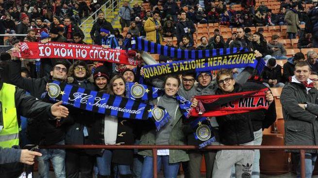Il derby Milan-Inter (Newpress)