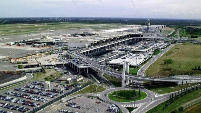 L'aeroporto di Malpensa si stende nella brughiera del Varesotto