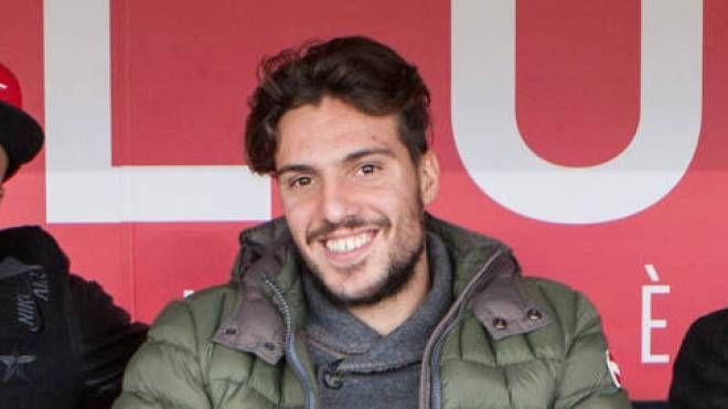 Simone Verdi allo stadio per vedere Bologna-Palermo (Olycom)