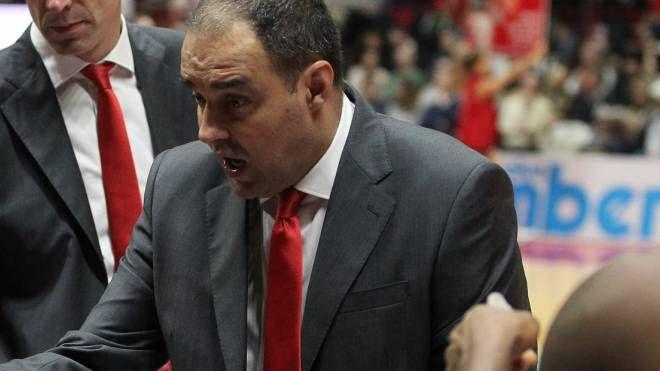 Paolo Moretti, allenatore della Pallacanestro Varese (Ciamillo)