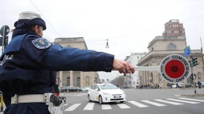 Traffico a Milano (Newpress)