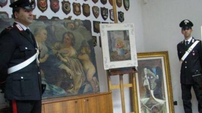 I carabinieri del Nucleo di Tutela patrimonio culturale  di Bologna