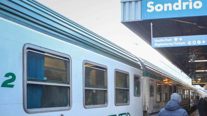 La stazione ferroviaria di Sondrio (National Press)