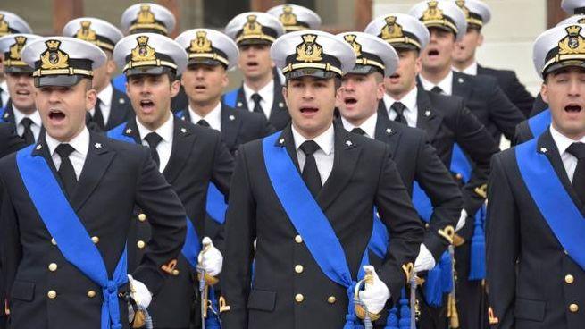 Il giruamento in Accademia Navale