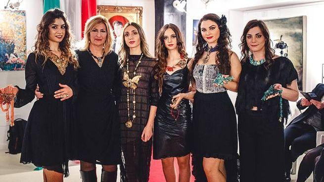 Sfilata di moda del festival Italia-Uzbekistan all'Alexander Hotel (Foto Wilson Santinelli)