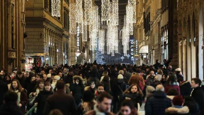 I negozi di Firenze (New Press Photo)