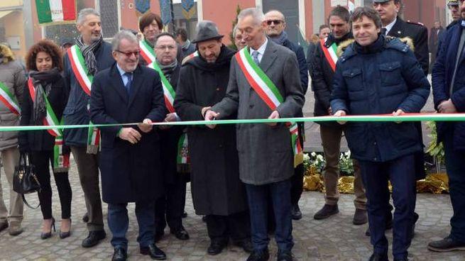 Maleo, inaugurazione nuova piazza