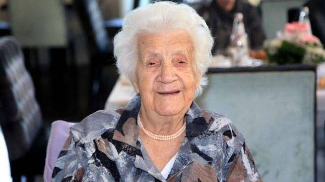 Iolanda Giovanardi si è spenta il 15 scorso all'età di 110 anni. Giovedì 22 a Trieste i funerali