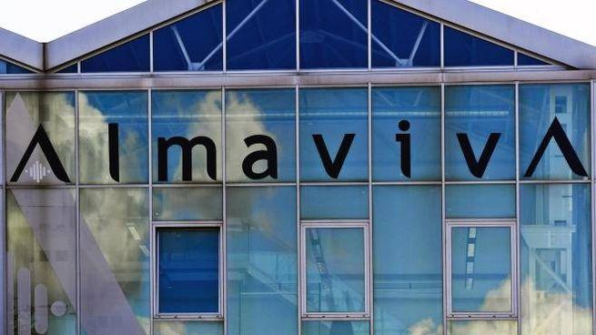 La sede napoletana di Almaviva in un'immagine del 10 ottobre 2016 (Ansa)