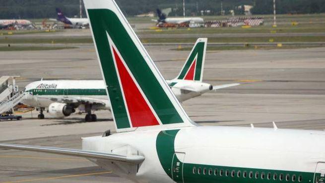 Aerei Alitalia (Newpress)