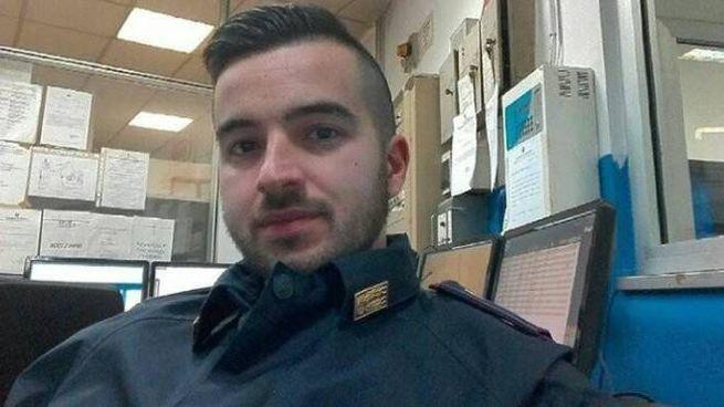 Luca Scatà, 29 anni, l'agente in prova che ha ucciso Anis Amri (Ansa)