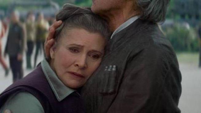 Carrie Fisher è morta (Olycom)