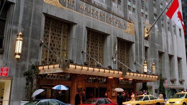 Il Waldorf-Astoria hotel a New York. (Ap/lapresse)