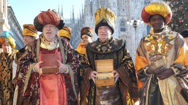 Un classico a Milano: il corteo dei Re Magi in centro il 6 gennaio