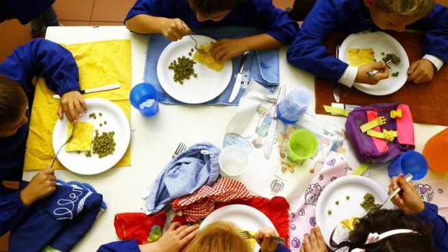 Una mensa scolastica (Foto archivio Germogli)