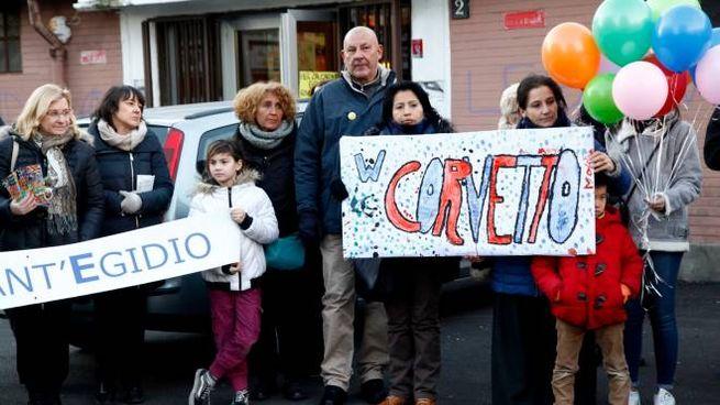 Una manifestazione al Corvetto (foto di repertorio)
