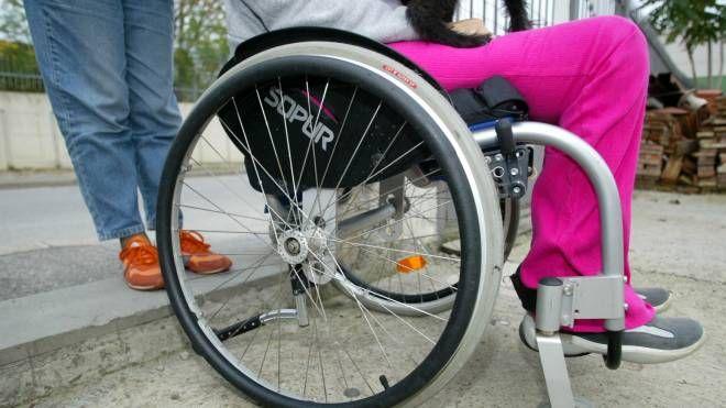 Assistenza invalidi (foto di repertorio Germogli)