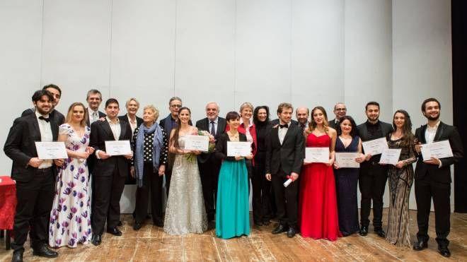 I cantanti premiati