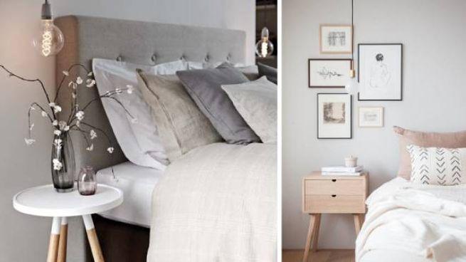 Camera da letto: lampade a sospensione sul comodino - Magazine ...
