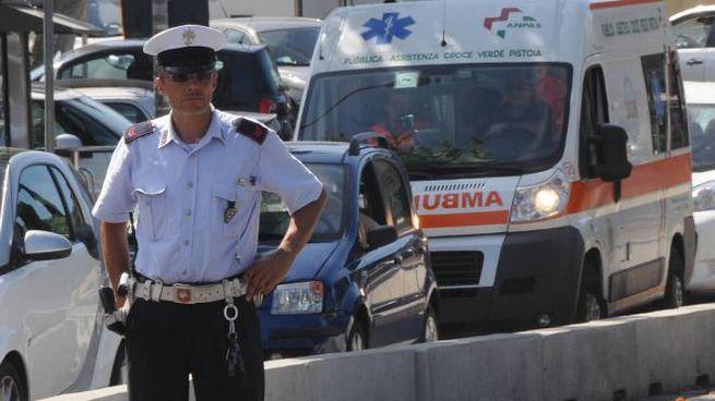 Polizia municipale (foto Umberto Visintini/NewPress Photo)