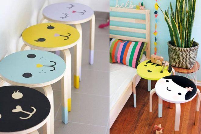 Ikea hacking: idee per personalizzare lo sgabello frosta magazine