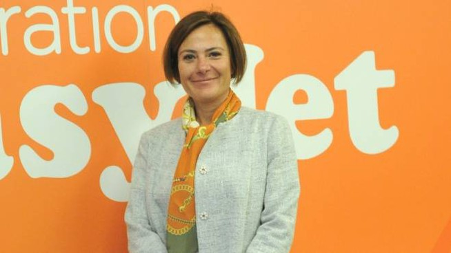 Frances Ouseley, direttore di EasyJet per l'Italia