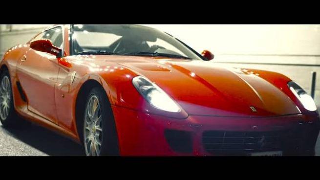 La Ferrari del rapper Snik