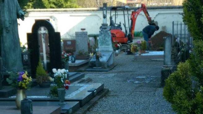 Il cimitero di Saronno