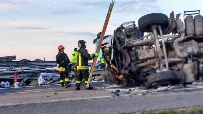 Incidente in autostrada (Foto di repertorio Torres)