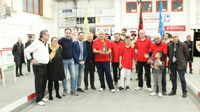 Sant'Elpidio a Mare, la premiazione della Contesa del Pallino 2017
