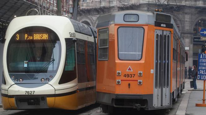 Tram a Milano (Newpress)