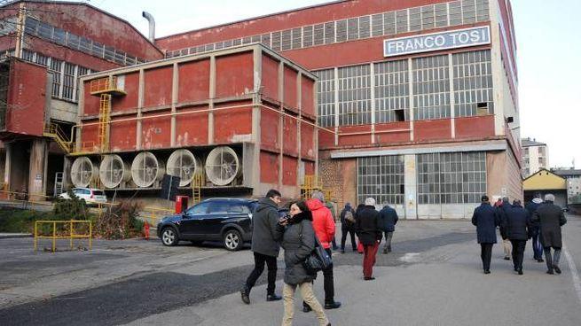 Lo stabilimento della Franco Tosi di Legnano
