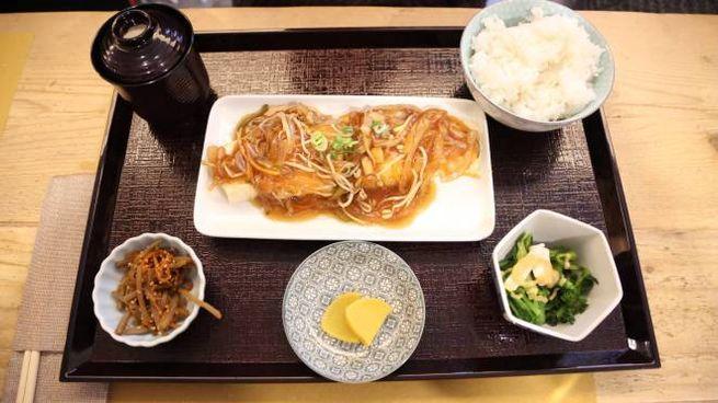 Un piatto proposto dal ristorante giapponese Yuzuia (foto Schicchi)