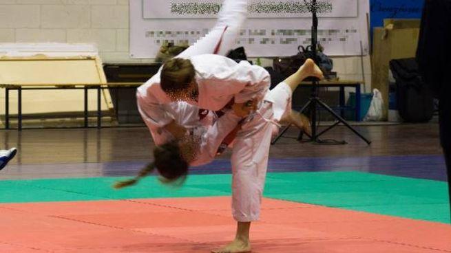 Un combattimento di Ju Jitsu