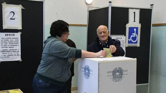 Il voto per il referendum