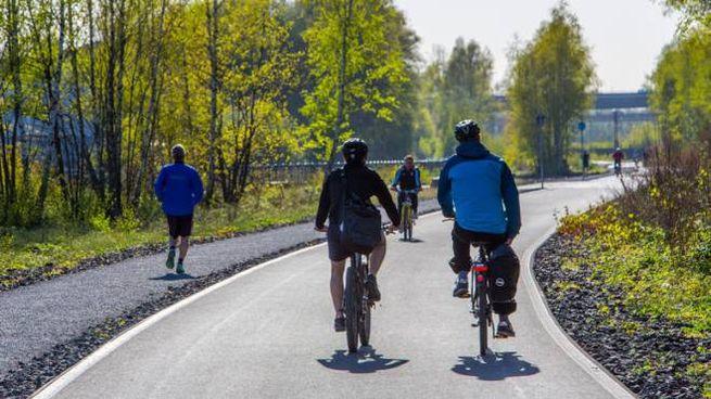 Sempre più in bicicletta
