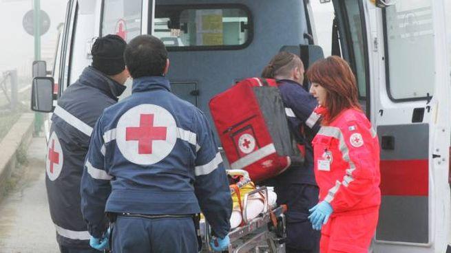 Fabriano, incidente all'uscita da scuola (foto d'archivio Fotoprint)