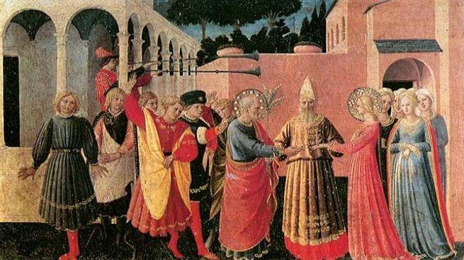 Sposalizio della Vergine del Beato Angelico