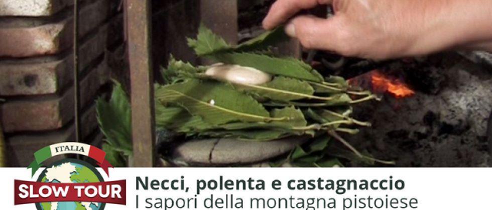Montagna pistoiese: Necci, polenta e castagnaccio
