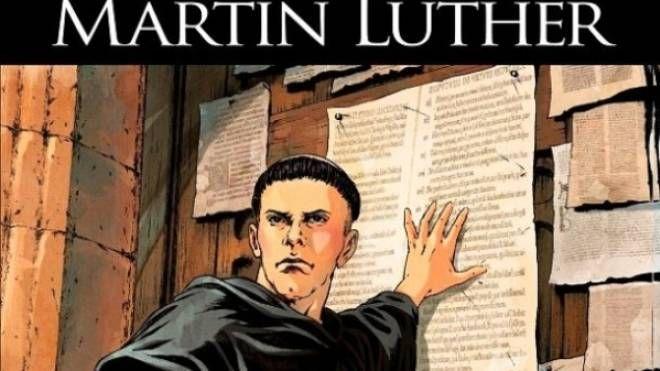 Martin Lutero a fumetti disegnato da Filippo Cenni (Glenat)