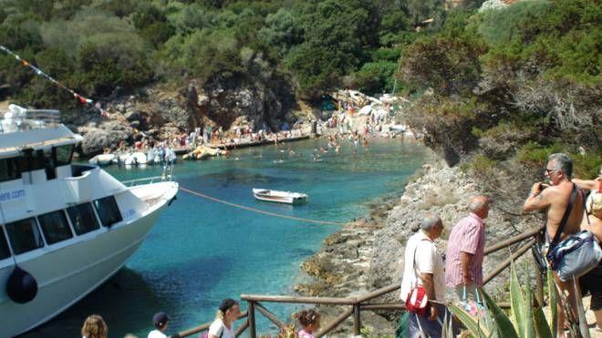 Sull'Isola di Giannutri gli sbarchi fino a ora erano limitati a trecento persone al giorno