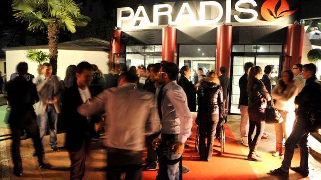 La discoteca Paradiso di Rimini alla fine degli anni Novanta (foto Migliorini)