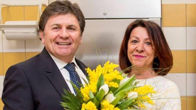 Amilcare Renzi e Amelia Carletti