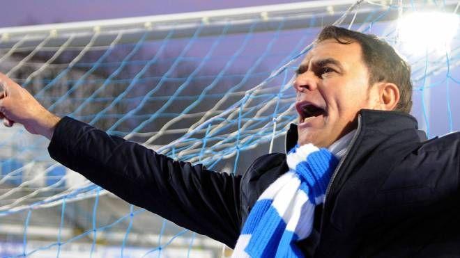 L'allenatore della Spal Leonardo Semplici (foto Businesspres)