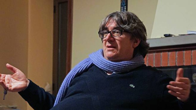 Don Massimo Biancalani, parroco di Vicofaro (Foto Castellani)