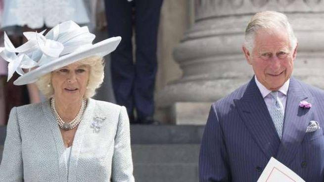 Carlo e Camilla in visita in Italia