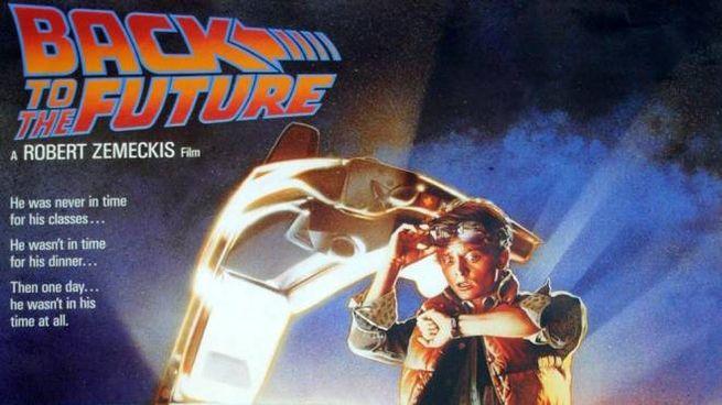 La locandina del film 'Ritorno al futuro' (Fotoprint)