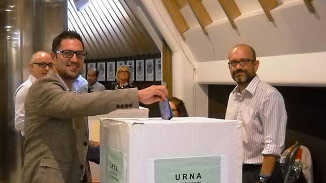 Daniele Tagliolini al voto
