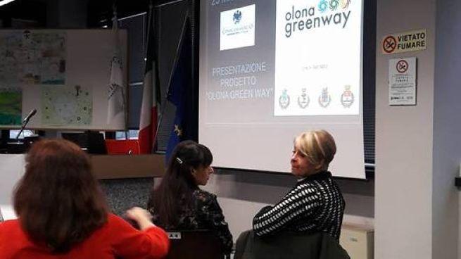 La presentazione di Olona Greenway